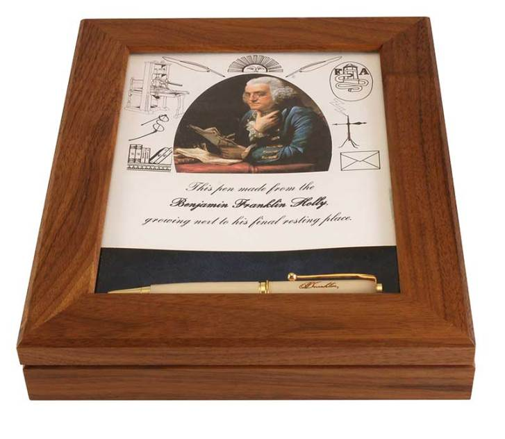 Heirloom Pens Glass Top Display Packaging
