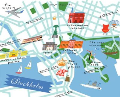 Illustrated cities - Lena Corwin