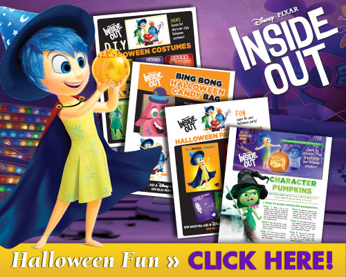 Download Inside Out Halloween Fun Activities