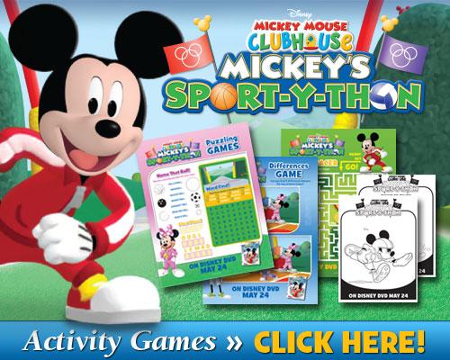 Download Mickey's Sport-Y-Thon Activities