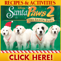 download Santa Paws 2 Recipes and Activities!
