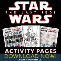 下载Star Wars最后的JEDI活动页面