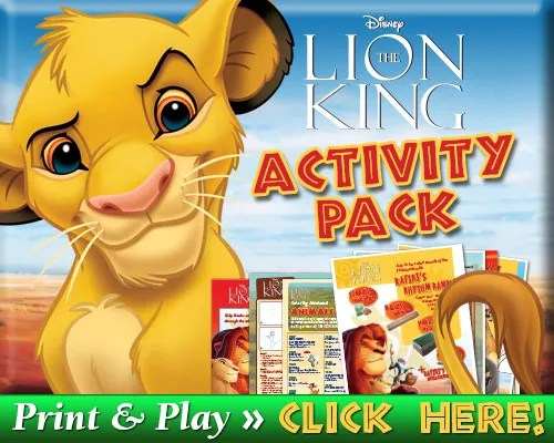Download The Lion King Signature Activity Pack