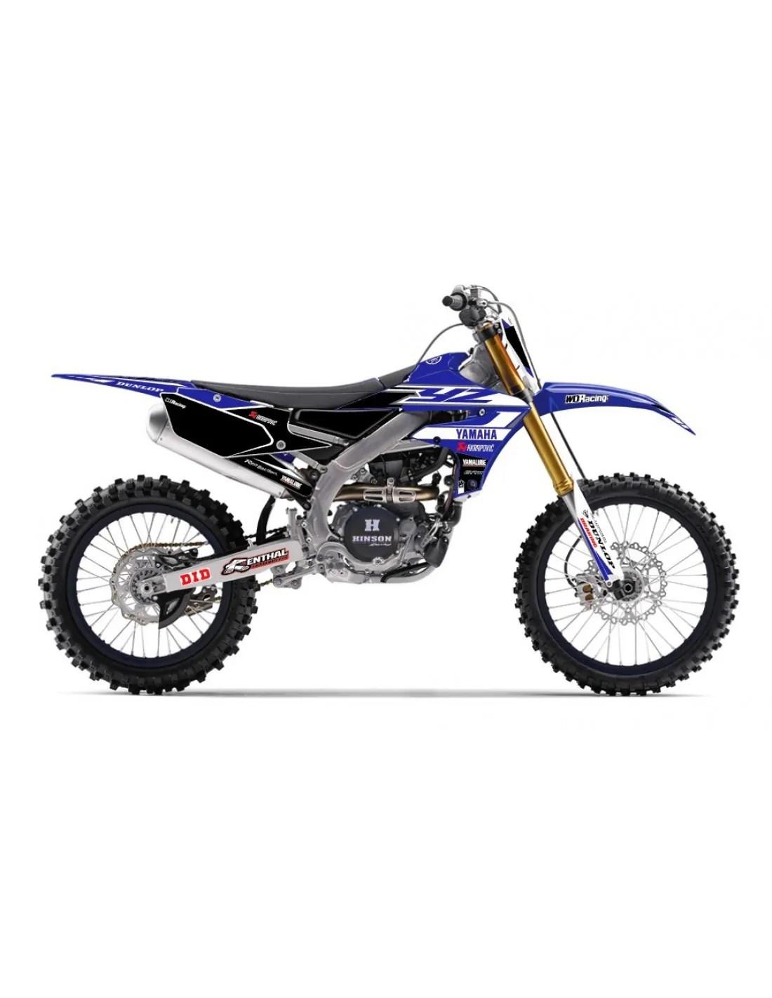 Grafiche Yamaha Yz Yzf Wrf 85 125 250 450 Champ