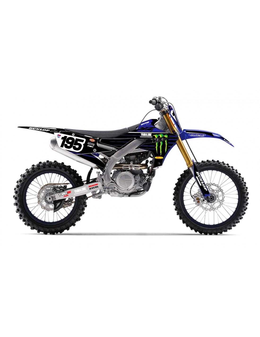 Grafiche Yamaha YZ YZF WRF 85 125 250 450 Grafiche Yamaha