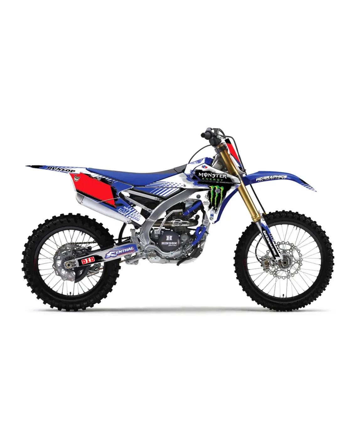 Grafiche Yamaha YZ YZF WRF 85 125 250 450 RAY
