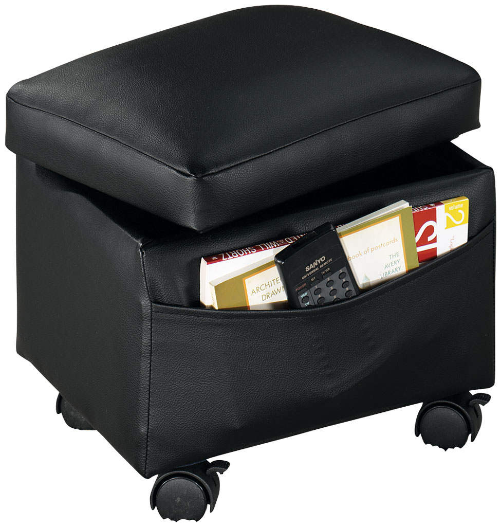 Flip Top Storage Ottoman by WalterDrake