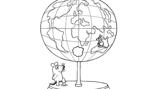 Maus mit Globus - Die Sendung mit der Maus - WDR