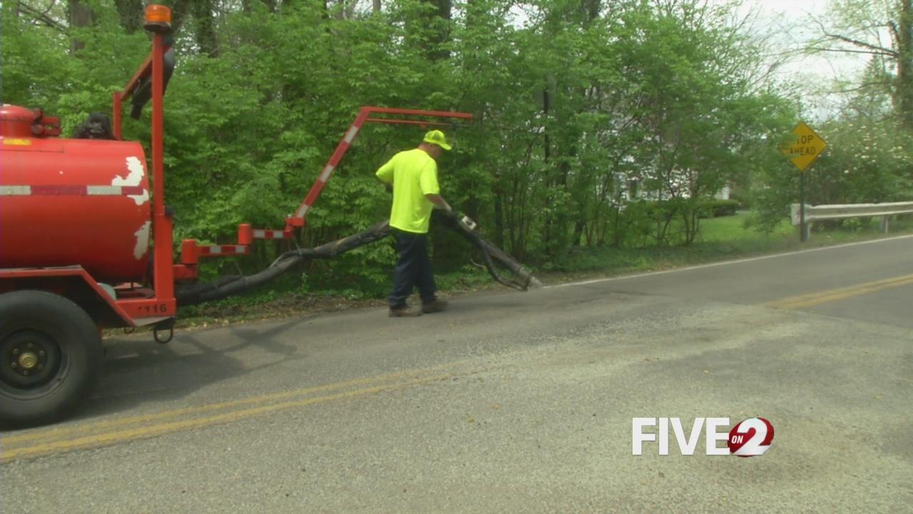 Dayton street crews patching up potholes (WDTN PhotoMaytal Levi)_83438