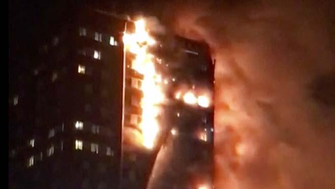 Britain London Fire_250703
