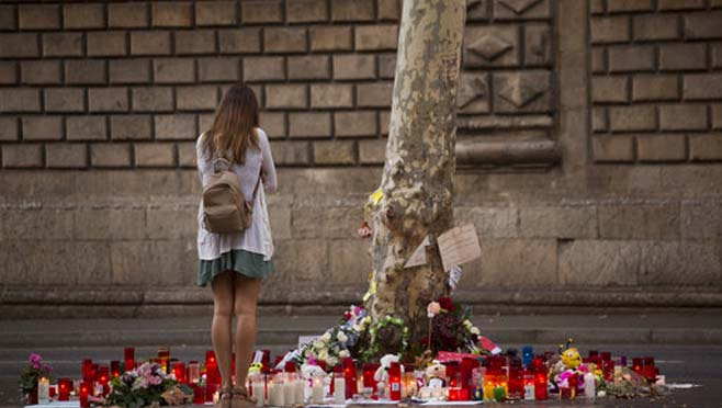 APTOPIX Spain Attacks_263677