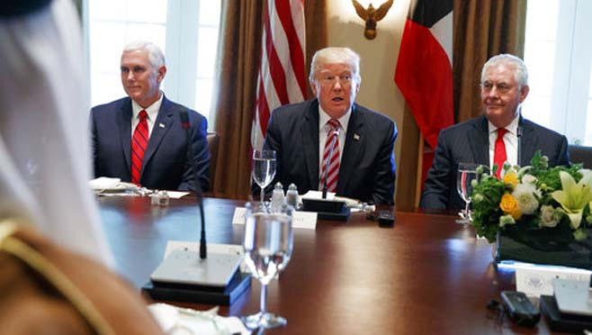 Donald Trump,Mike Pence,Rex Tillerson_266840