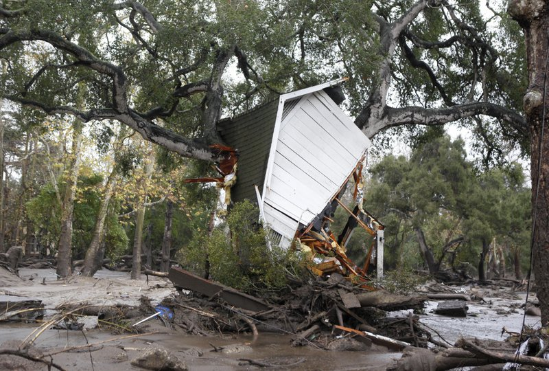 California mudslides_289423