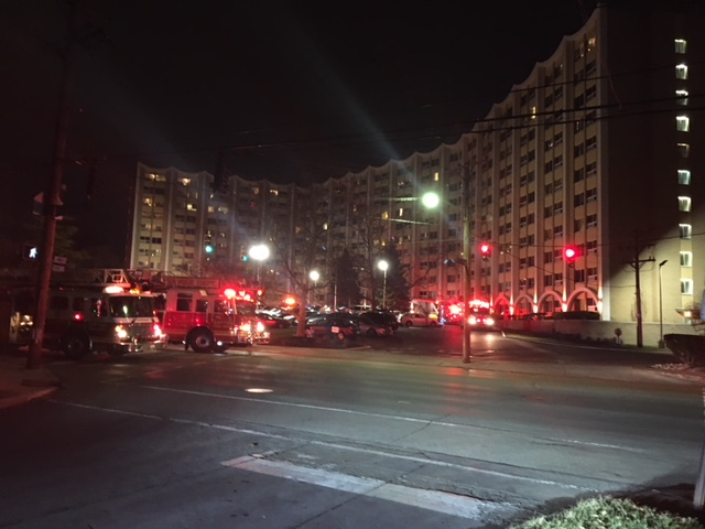 One injured from an apartment fire in Dayton