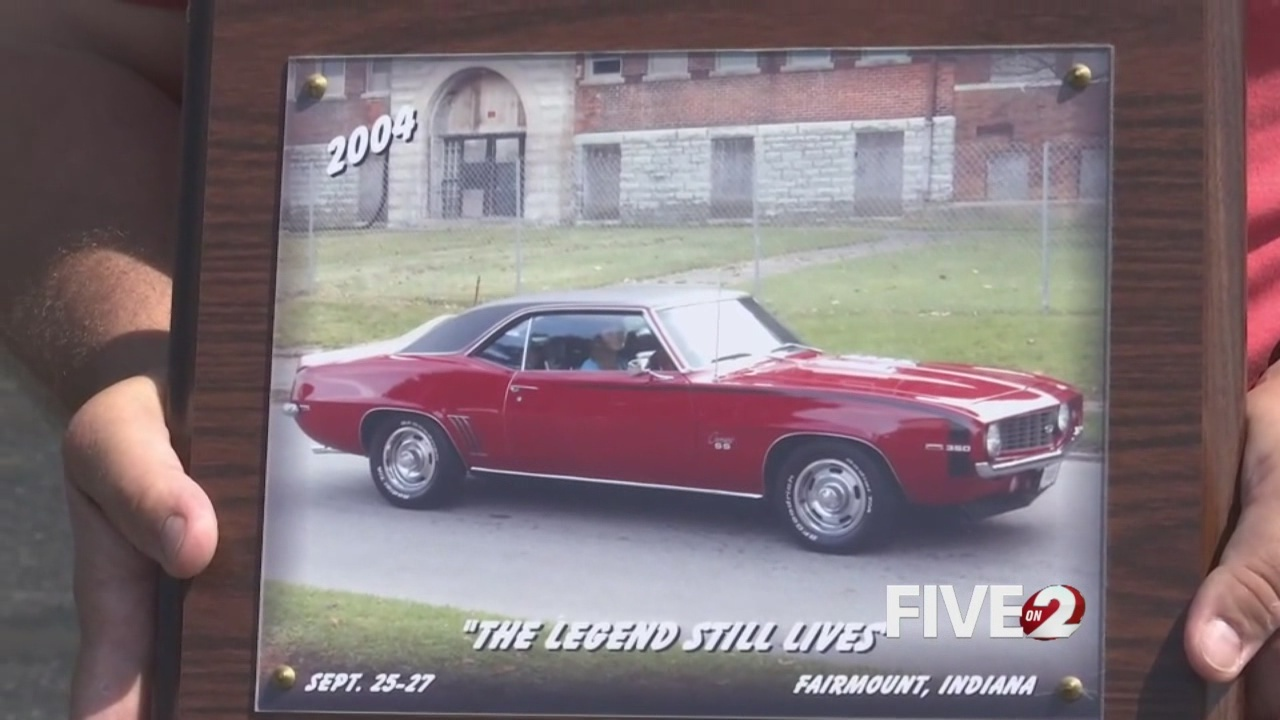 Vintage car stolen