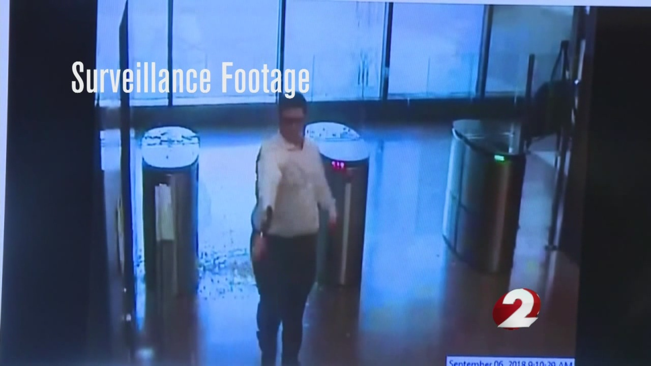 Footage shows Cincinnati gunman's rampage