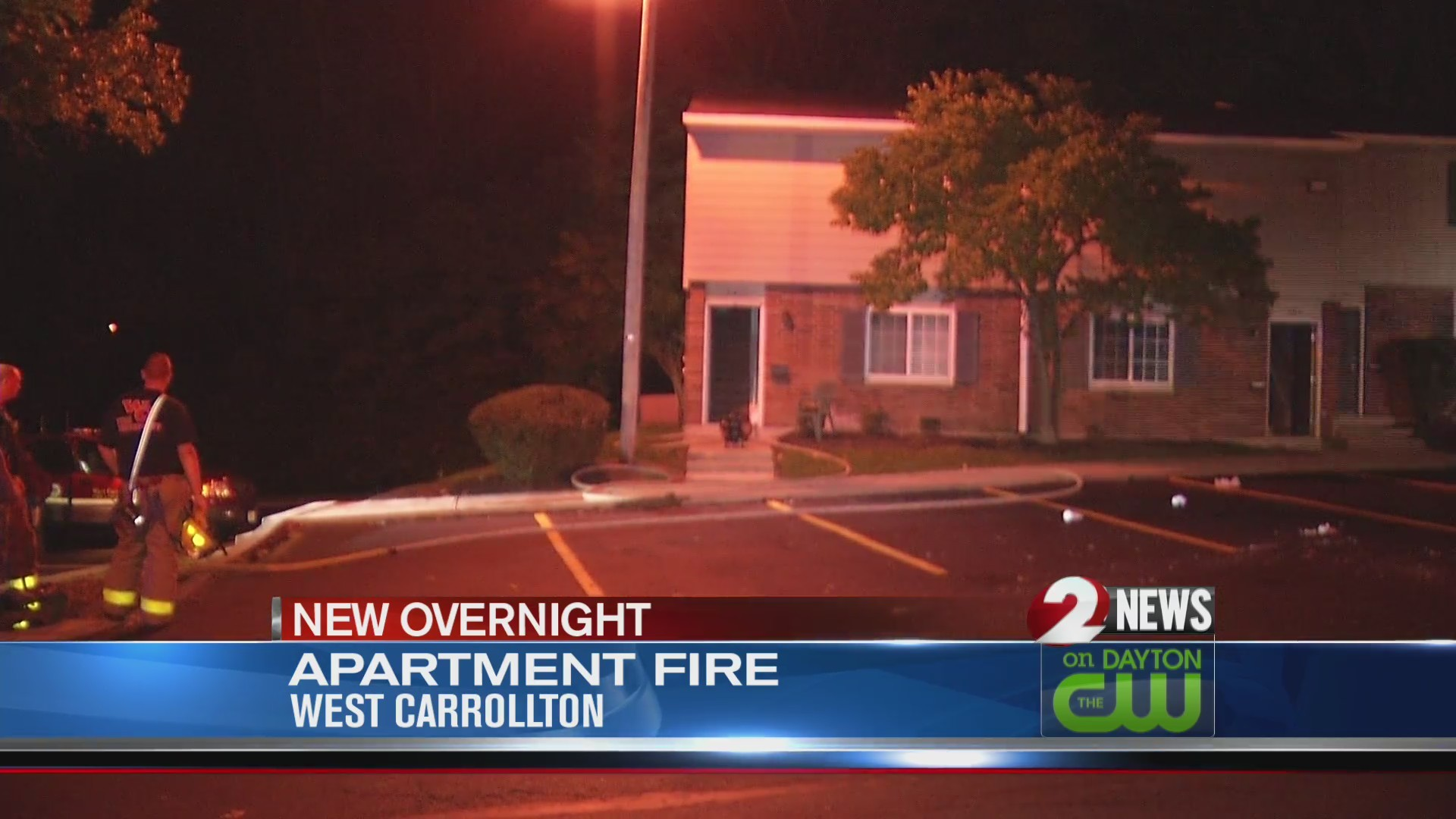 Dryer fire forces person from West Carrollton Apartment