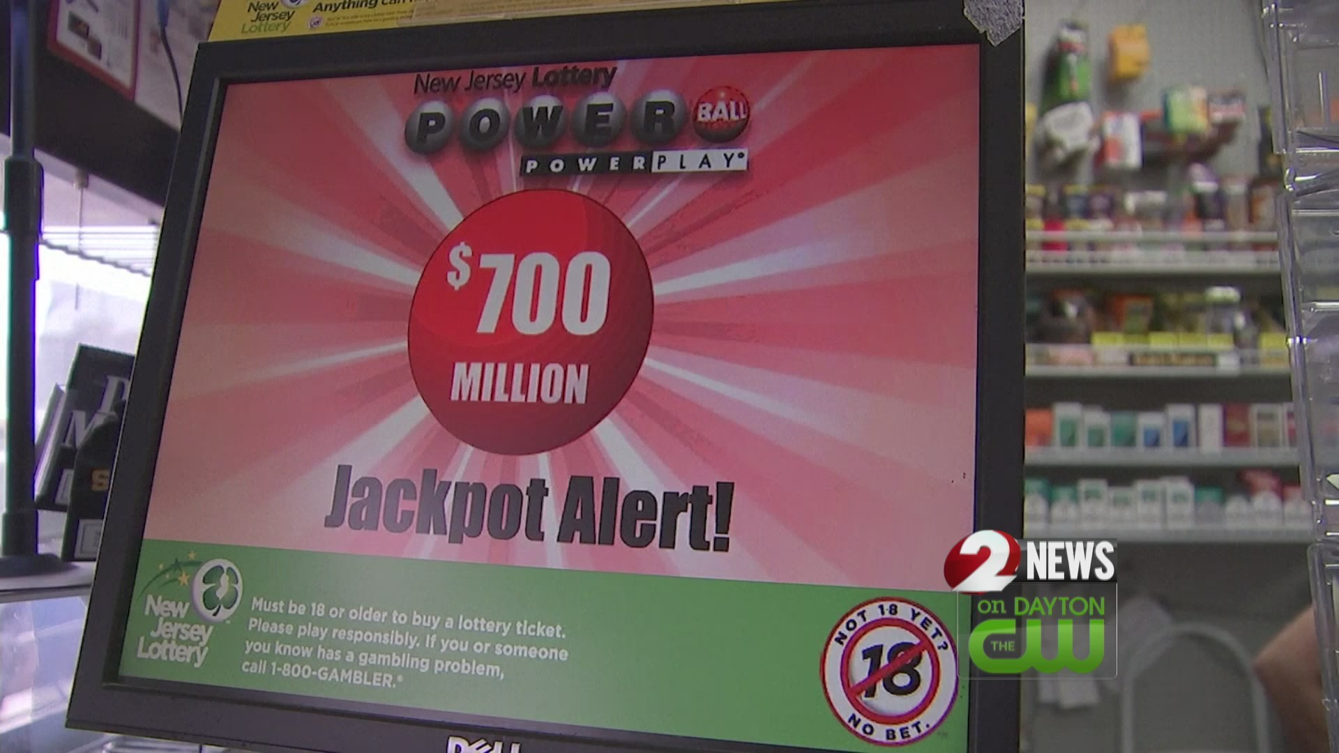 Mega Millions numbers drawn for nearly $1.6 billion jackpot