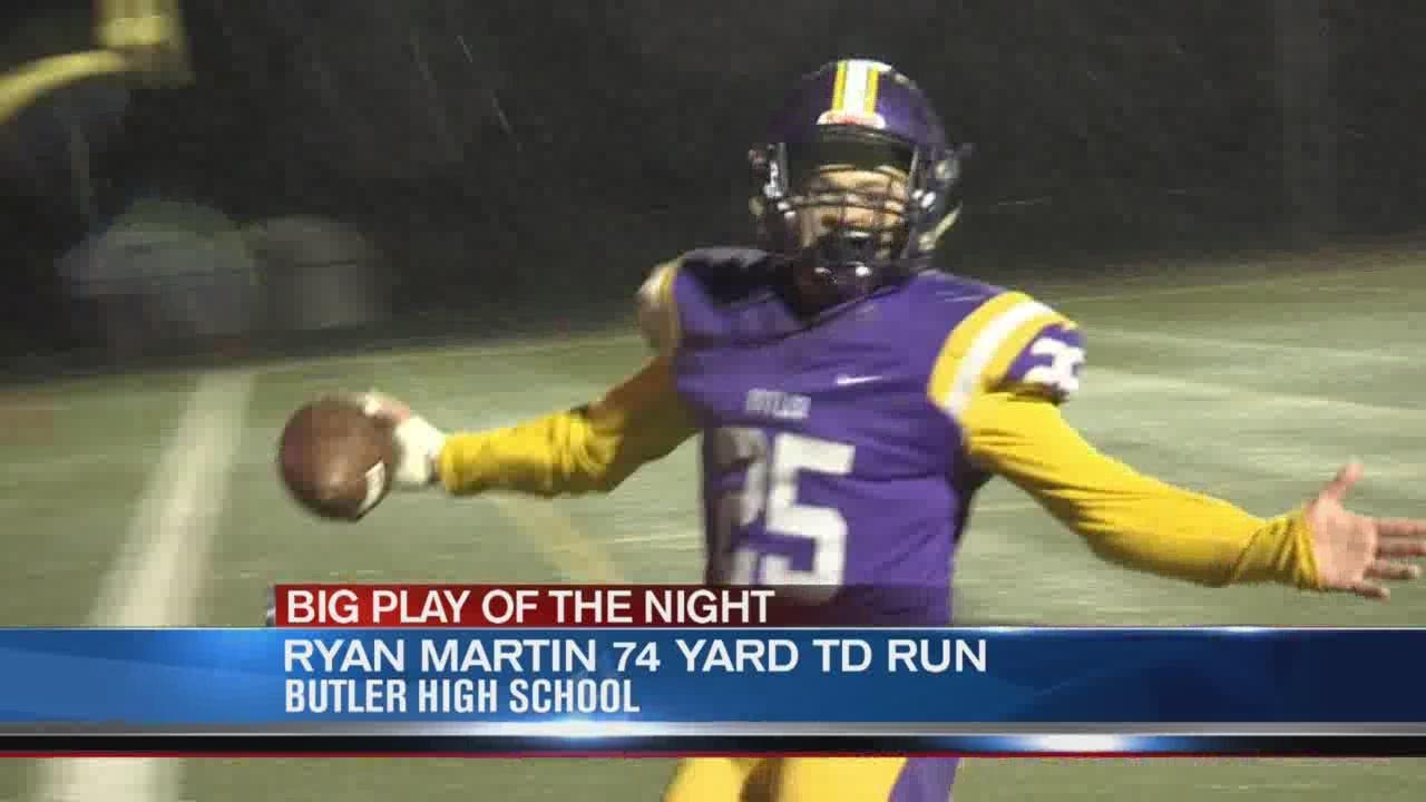 Operation Football Big Play of the Night Week 8: Piqua at Butler