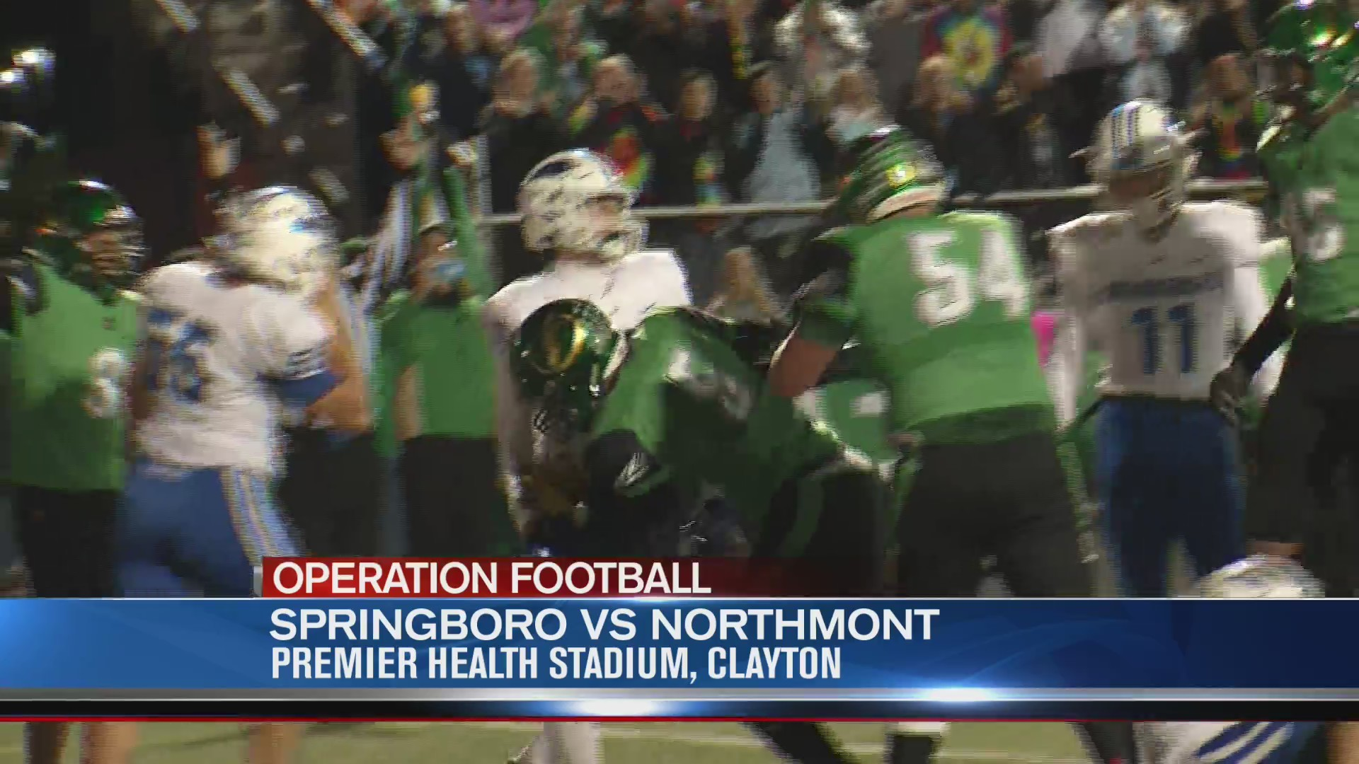 Operation Football Week 9: Springboro at Northmont