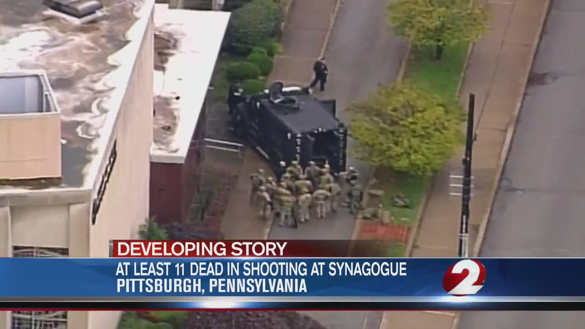 Pittsburgh shooting national