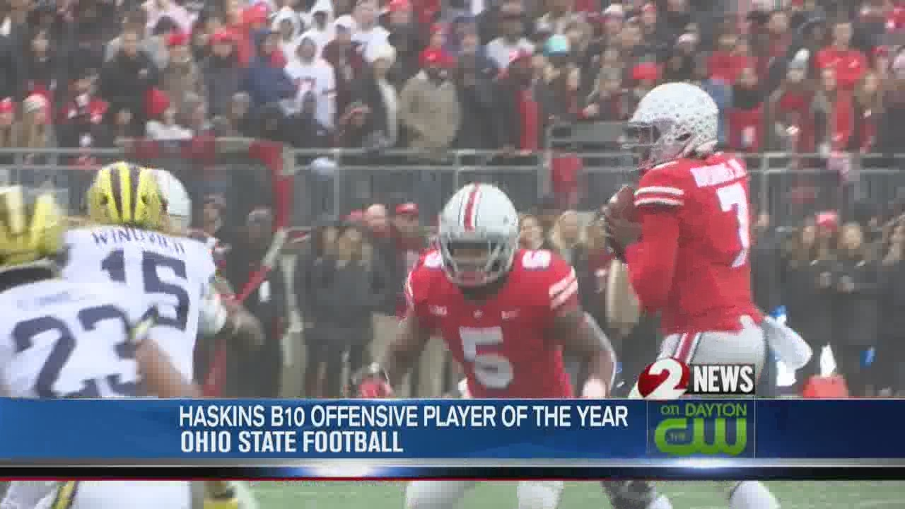 Haskins named B10 Offensive Player of the Year