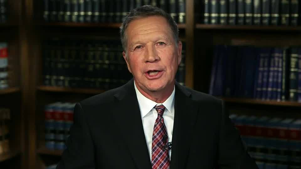Kasich: We're in danger of seeing our moral standing in the world eroded
