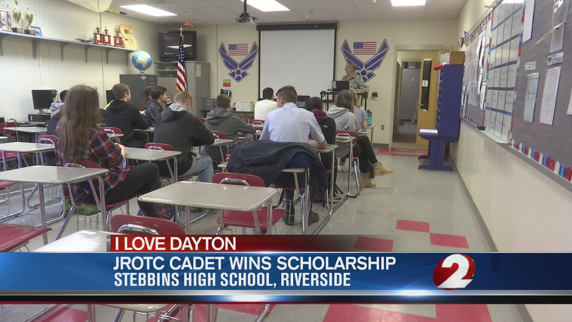 JROTC cadet wins scholarship