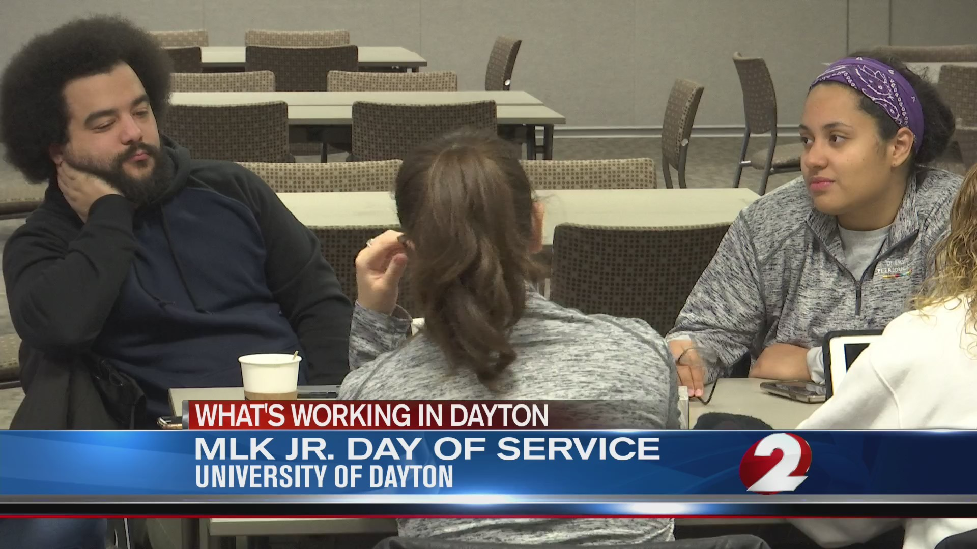 MLK Day of Service at University of Dayton