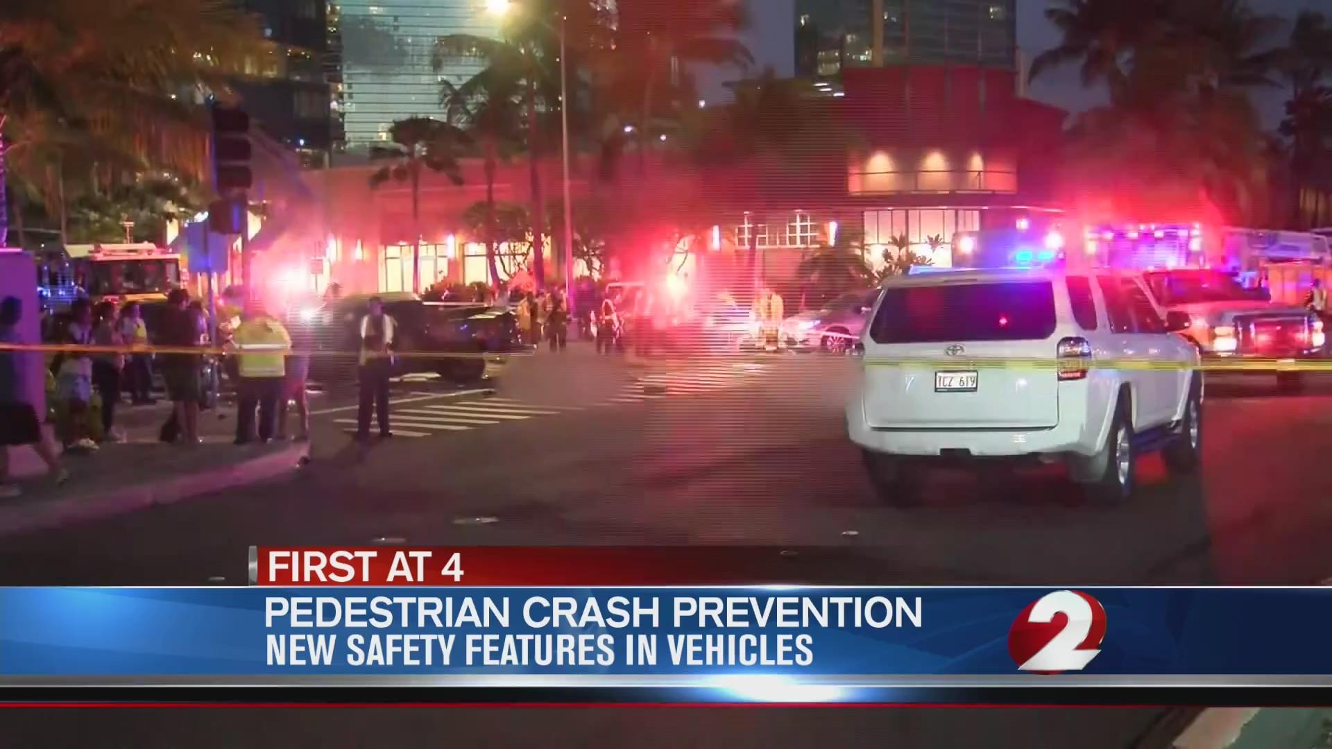 Pedestrian crash prevention