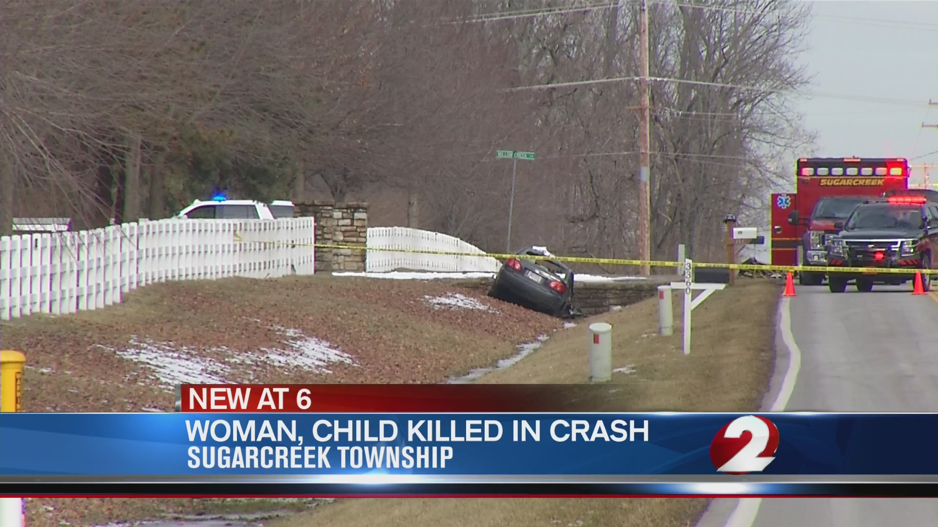 Woman and child killed in Sugarcreek Township crash