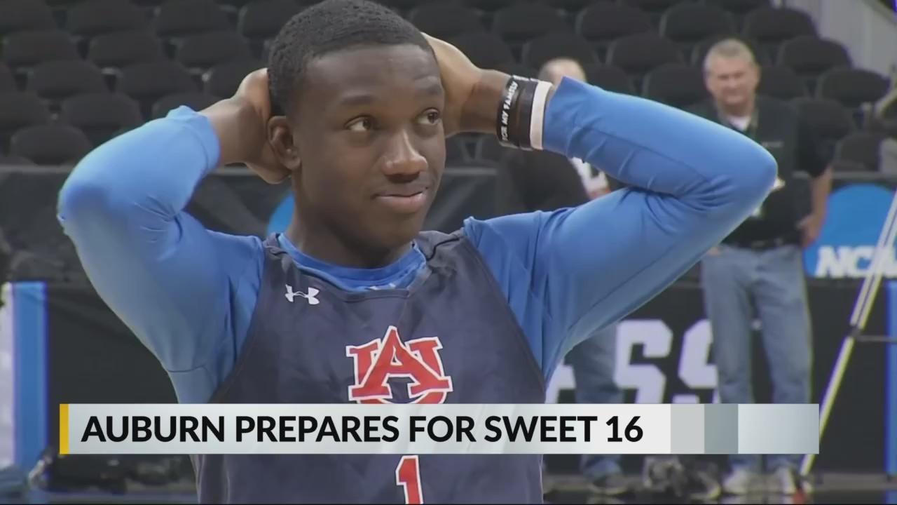 Auburn prepares for Sweet 16