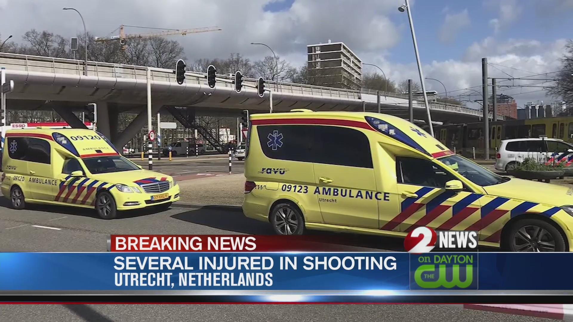 Dutch police considering terrorism in shooting