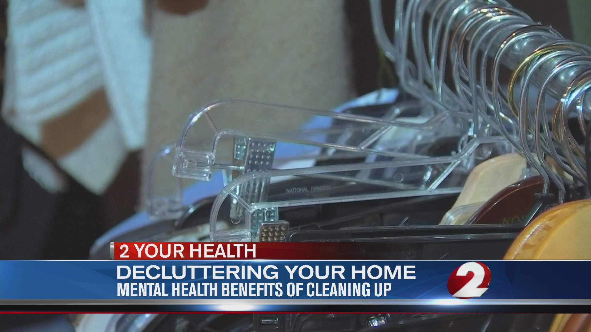 Mental health benefits of cleaning up