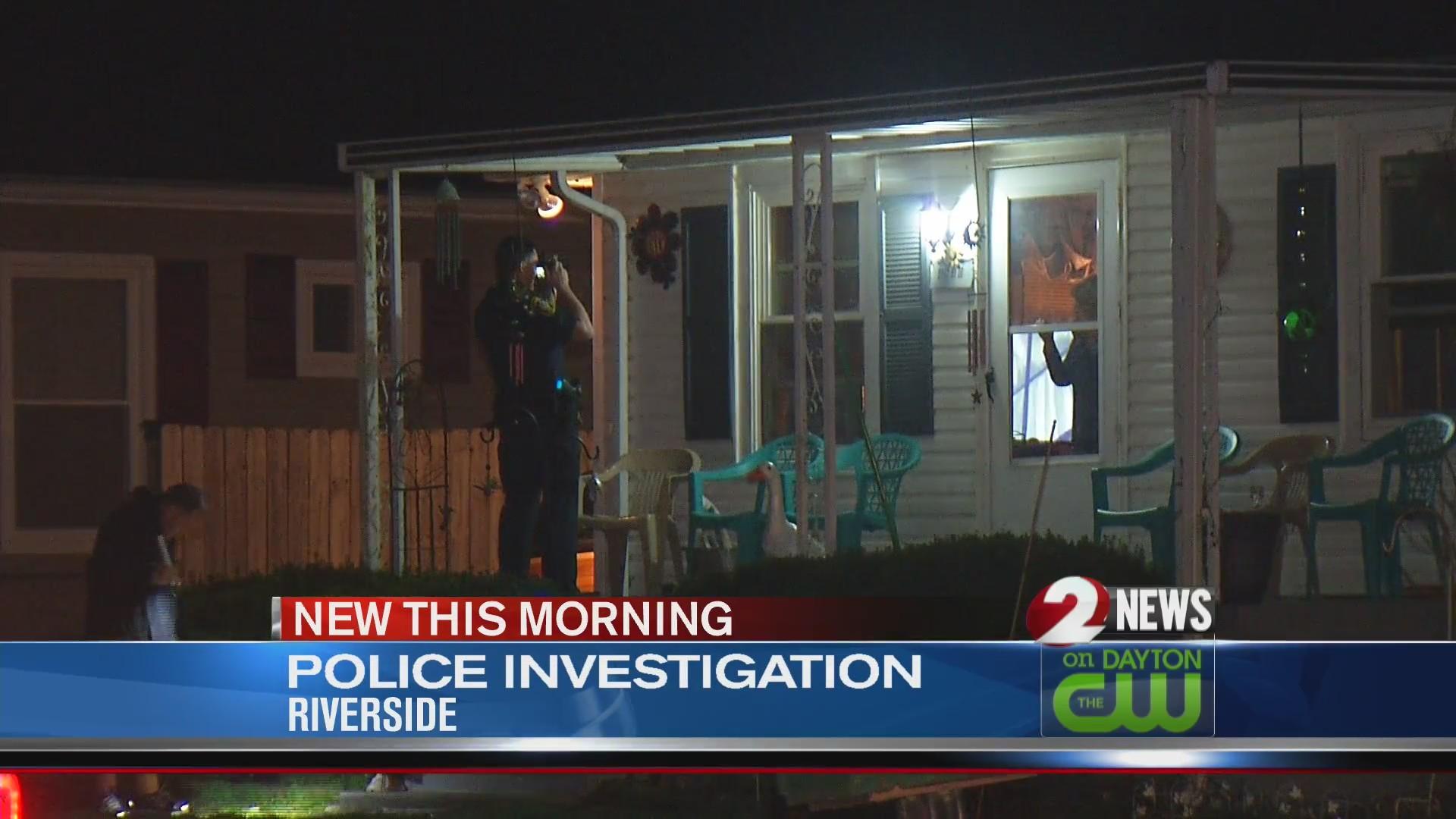 Police investigate Riverside incident