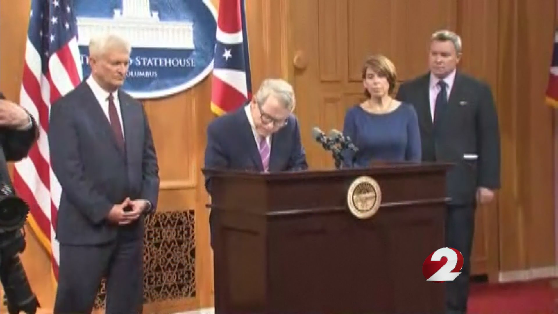 Governor orders review of actions in Ohio State doctor abuse