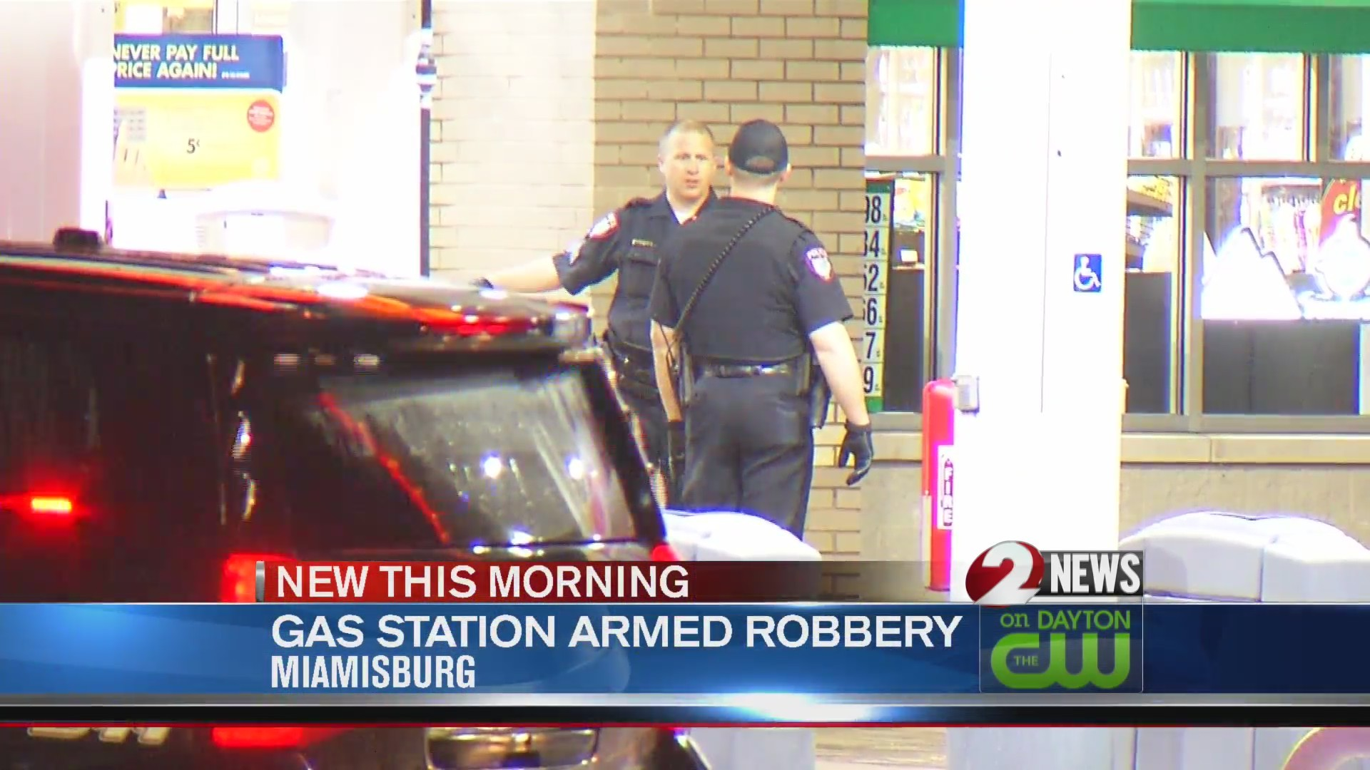 Police search for 3 in Miamisburg gas station armed robbery