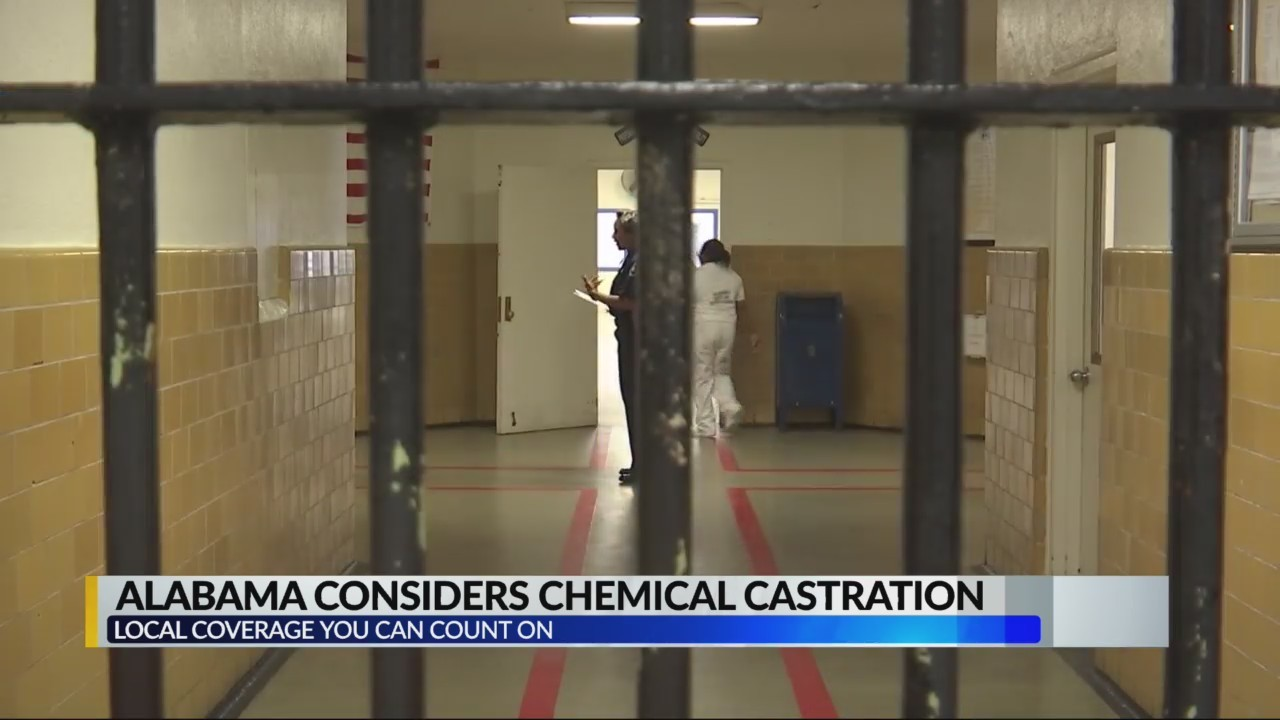 Alabama Considers Chemical Castration