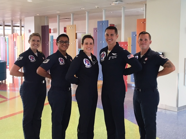 USAF Thunderbirds at Dayton Children's