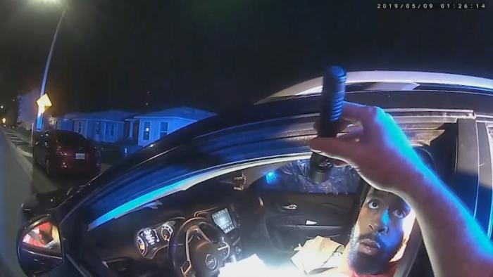 """Dude, you're killing me1"" - Officer dragged on body camera"