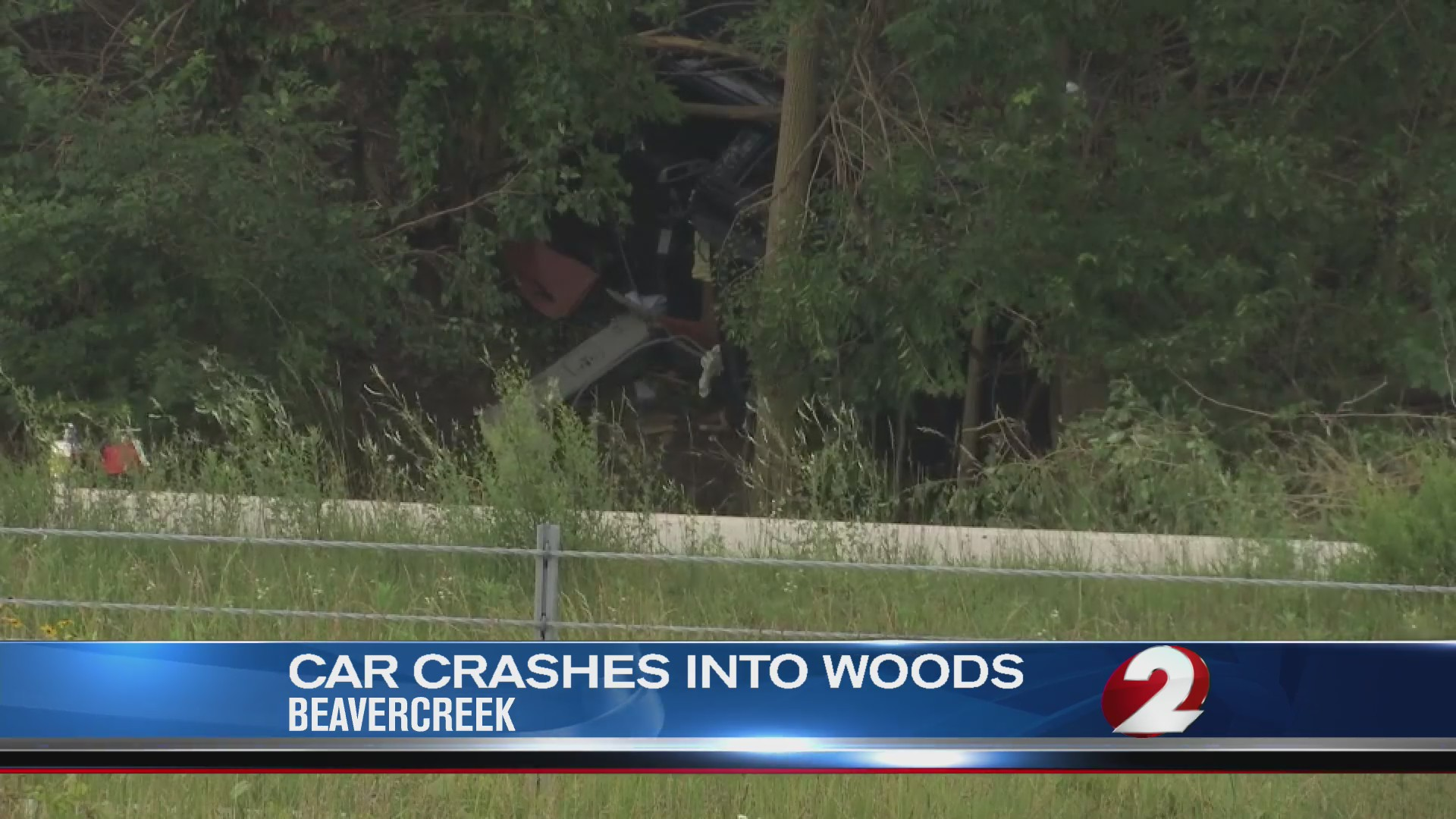 Car crashes into a tree in Beavercreek
