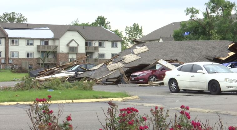 Trotwood Tornado Damage