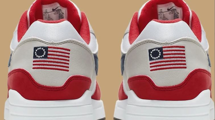 Nike pulls 'Betsy Ross Flag' shoe after complaints from