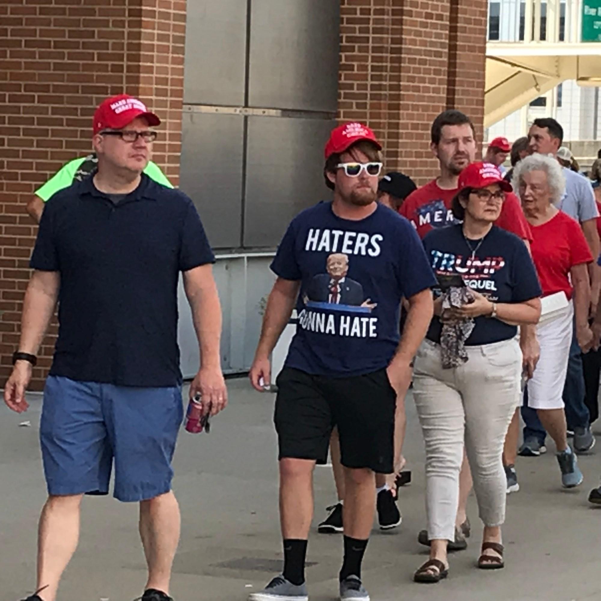 Sights at the Trump Rally 4