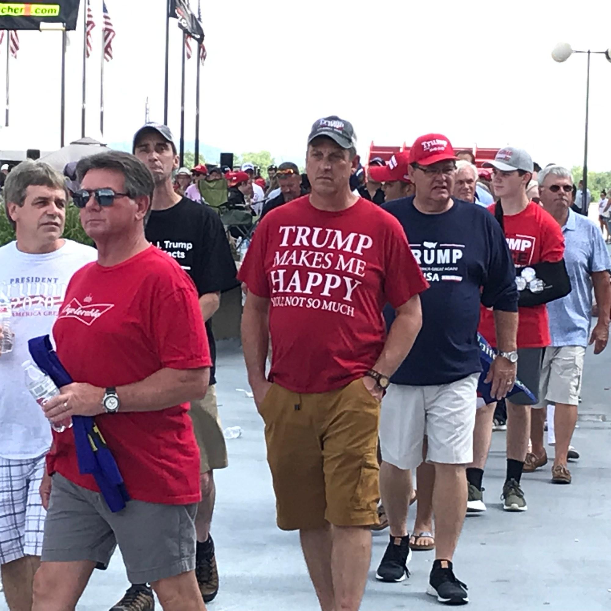 Sights at the Trump Rally 14