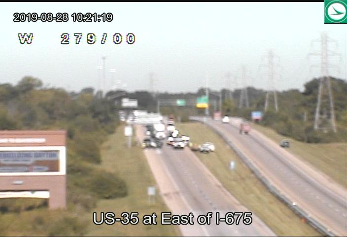 U S  35 reopened in Beavercreek after two-car crash   WDTN