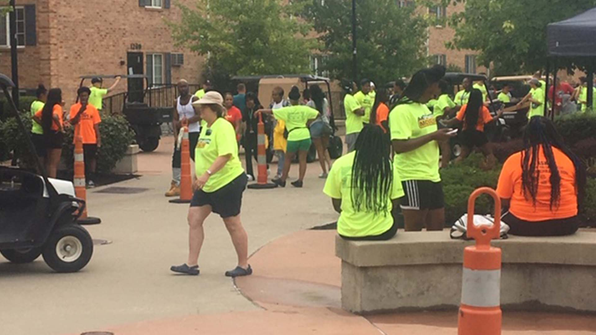 Wright State Move In