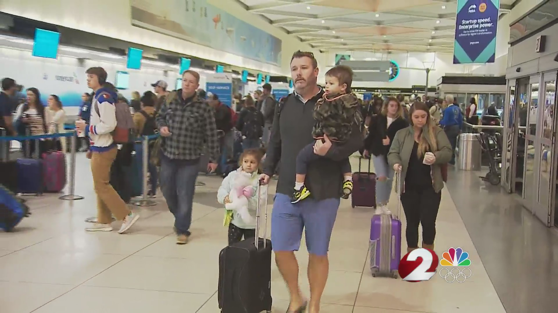 Holiday travel plans