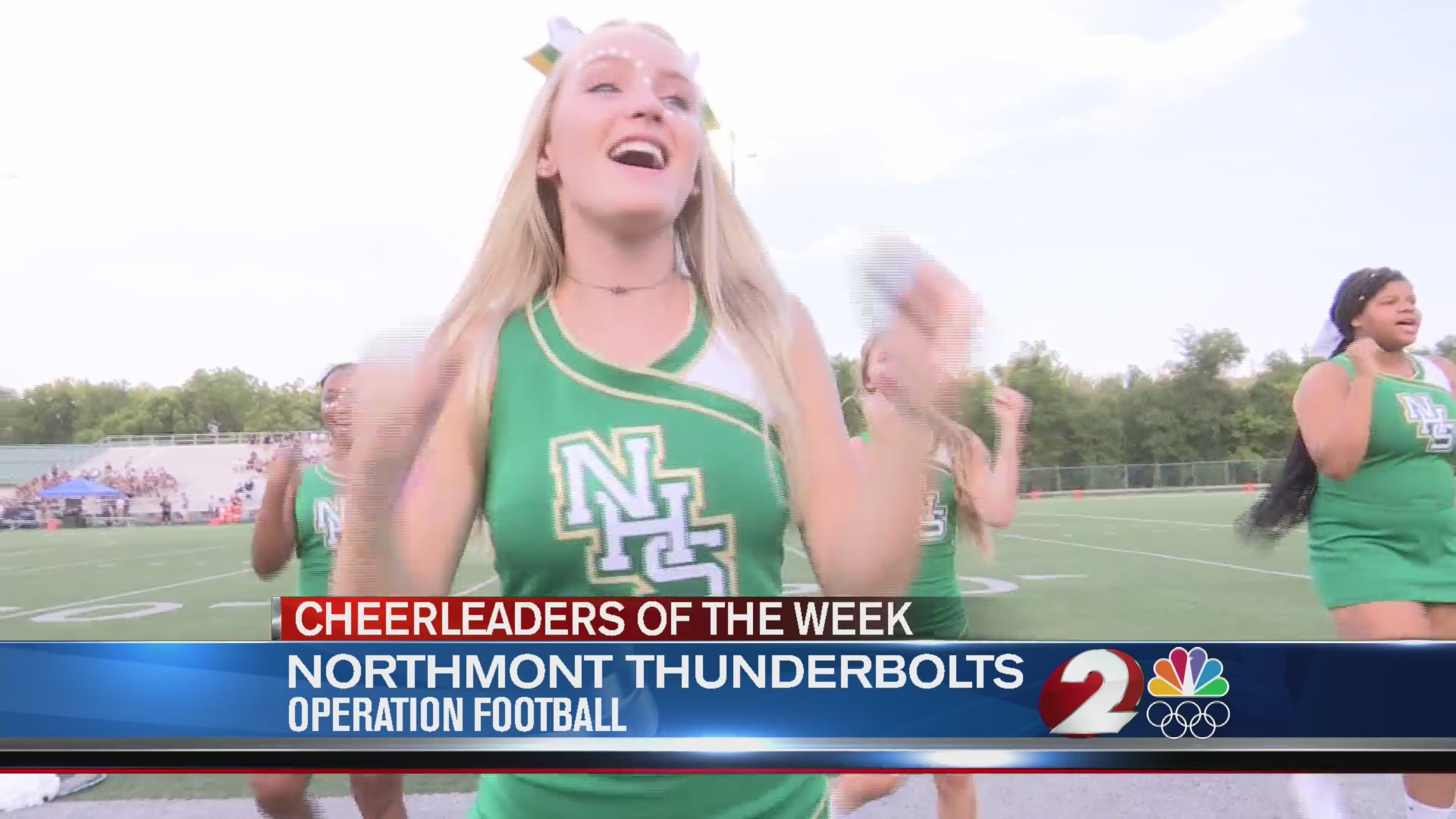 Operation Football Week 3 Cheerleaders of the Week: Northmont Thunderbolts