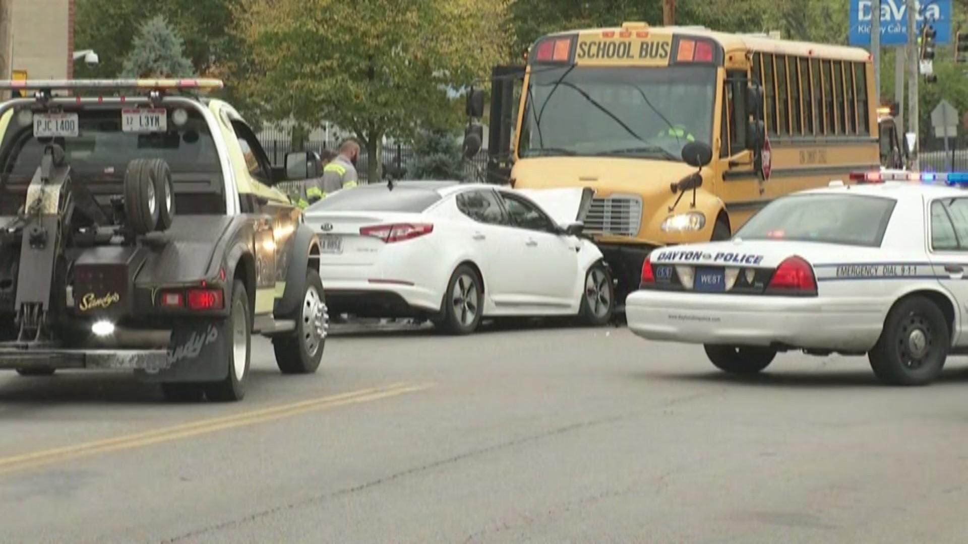 10-21 crash with school bus